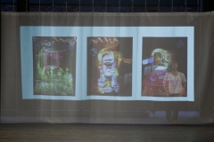 Asian Triptych on stage