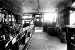 Interior of Flarhety's Cafe Smith St. 1911